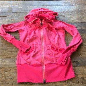 Lululemon In Stride Jacket Violet Red Pink Jacket